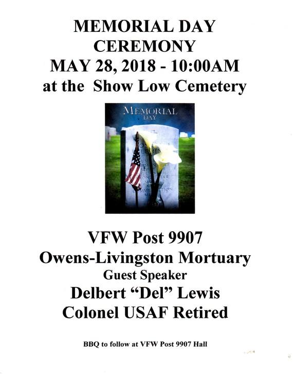 Veterans Vfw Post 9907 Show Low Az Home