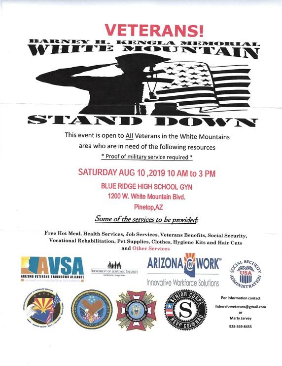 Veterans, VFW Post 9907 Show Low, AZ About Us